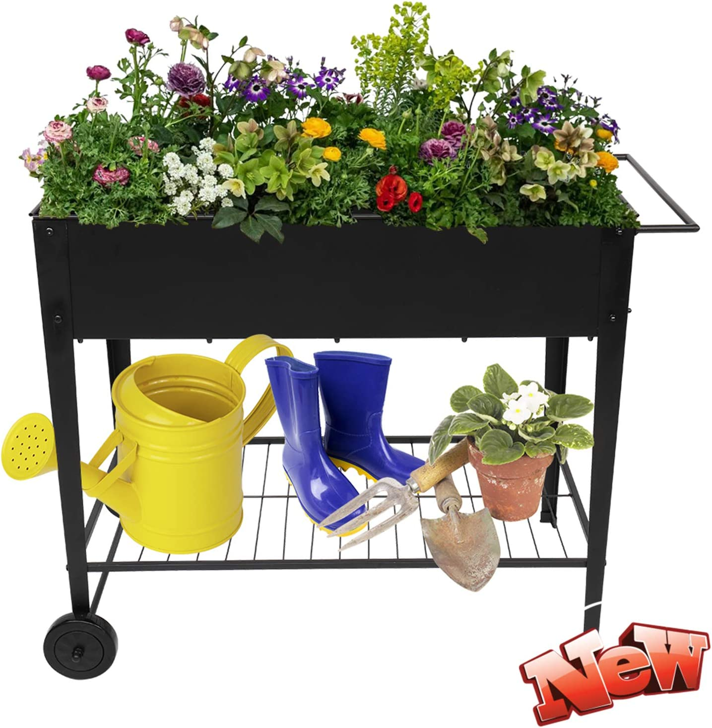 WYOHLLVO Latest Version OFFicial store Max 42% OFF Stronger Metal More Raised Bed Garden