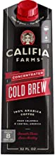 Califia Farms – Cold Brew Coffee Concentrate, Unsweetened, 32 oz (Pack of 6) |..