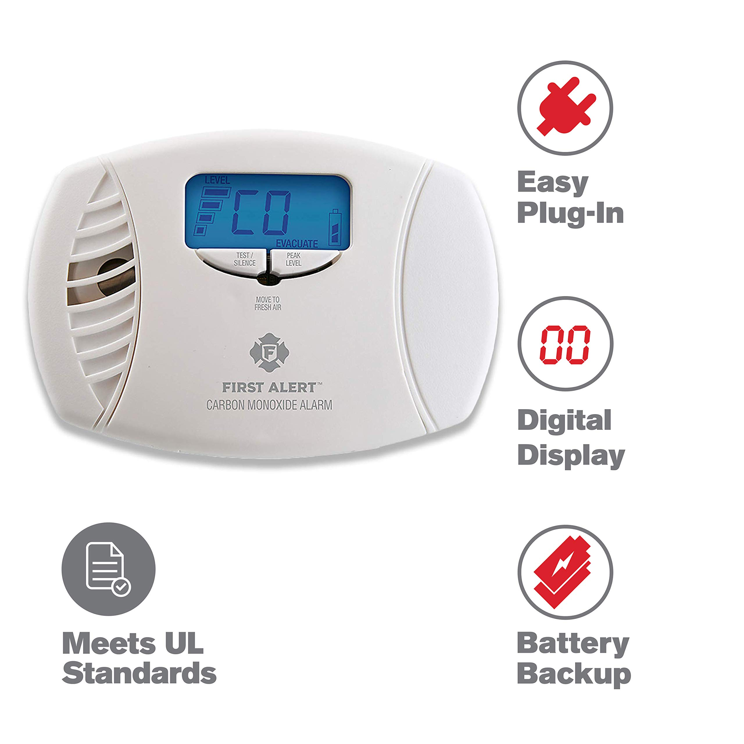Save 43% Off on First Alert Carbon Monoxide and Smoke