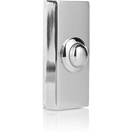 Byron 7910 Wired Bell Push White