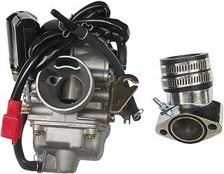 30mm Carburetor with Intake Manifold Pipe Carb for GY6 150cc 150 KAZUMA CARROLL STREAM EAGLE