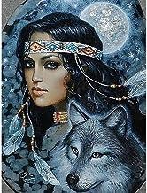 Houten Legpuzzels 1500 Stukken voor Volwassenen en Kinderen Indianen Wolf Entertainment Speelgoed Educatief Gift Moderne H...