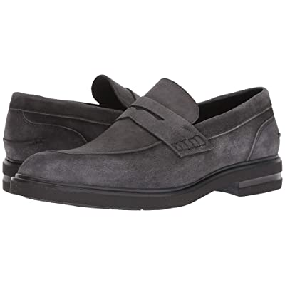 Donald J Pliner Edmund (Charcoal Washed Suede) Men