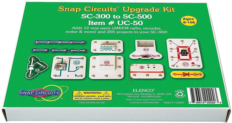 Snap Circuits UC-50 Upgrade Kit SC-300 to SC-500 [並行輸入品]