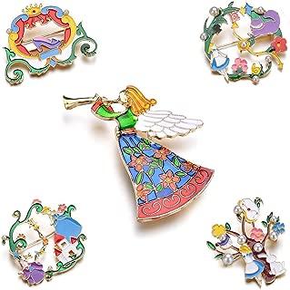 fairy enamel pin