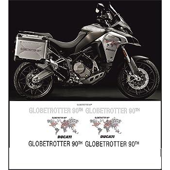 Kit adesivi decal stikers DUCATI MULTISTRADA 1200 ENDURO GLOBETROTTER 90TH
