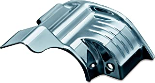 Kuryakyn 7779 Motorcycle Engine Accessory: Starter Mount Cover Accent for 2009-16 Harley-Davidson Touring Motorcycles, Chrome
