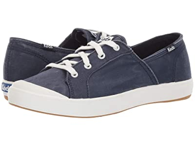 Keds Sandy Washed Solids (Navy) Women
