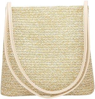 OYSOHE Damen Spinnende Tasche, Sommer Einzelne Schulter Eimer Form Feste ShopperHandtasche