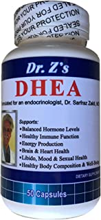 Dr. Z's - DHEA (DEHYDROEPIANDROSTERONE) - 25mg - 50 Count