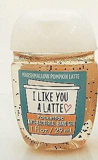 Bath Body Works PocketBac Hand Gel I Like You A Latte Marshmallow Pumpkin