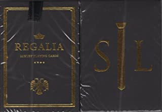 Shin Lim Regalia Playing Cards Poker Size Deck Cartamundi Custom Limited Edition