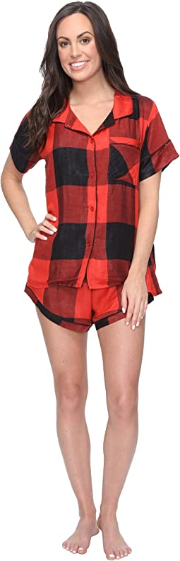 Red/Black Buffalo Plaid