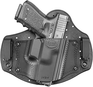 New Fobus IWBM Right Hand IWB Inside Waistband Passive Retention Holster Fits Glock 17,19,26,27,28,33 / Beretta PX4 Compact / Sig Sauer P320, P228 / Walther PPQ, P99 / Smith & Wesson M&P Shield, M&P Compact / FN - FNS, FNX / Ruger SR9, SR40, SR45, LC9 / Springfield XD Sub-Compact / Taurus 709 Slim, PT111 G2