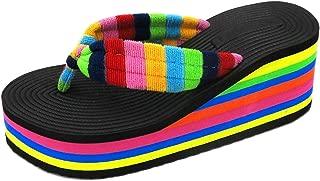 Best rainbow platform sandals Reviews