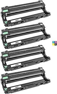 Fotocondutor Compatível com DR221 para Brother DCP-9055 MFC-9130 9140 9340 HL-3140 3150 3170/4 pçs/CMYK / 15.000