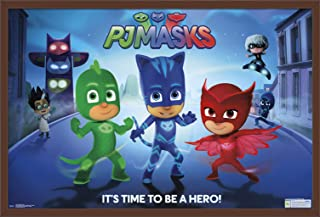 Trends International PJ Masks - Its Time to Be A Hero Wall Poster, 22.375