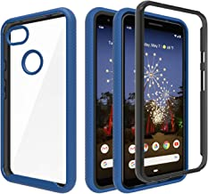 Ayoo for:Google Pixel 3a XL Phone Case,Google Pixel 3a XL Case(Not fit:Pixel 3a),[Shock Absorption] Soft TPU+Hard PC Bumper Protective Full Body Cases Cover for Google 3a XL-XK Metal Slate