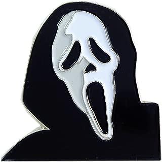 Scream Ghost Hoodie Gory Horror Movie Enamel Pin Lapel