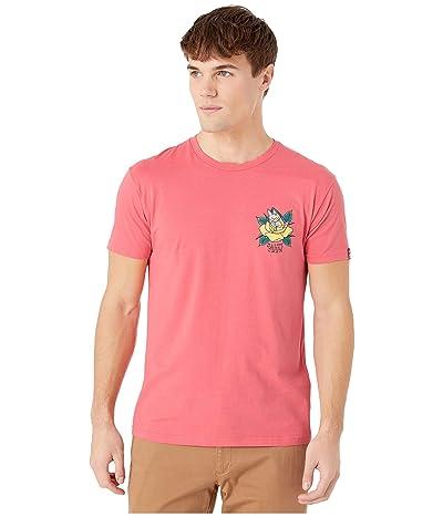 Salty Crew Petal Pusher Premium Short Sleeve Tee (Coral) Men