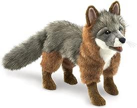 Folkmanis Gray Fox Hand Puppet