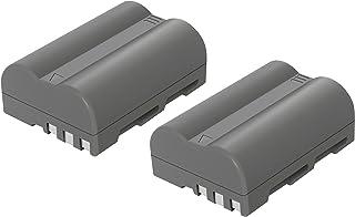 bonacell 2x Batería para Nikon EN-EL3e Cámara Batería de Repuesto 2000mAh Compatible con Nikon D30D50D70D70D90D80D100D200D300D700D300s
