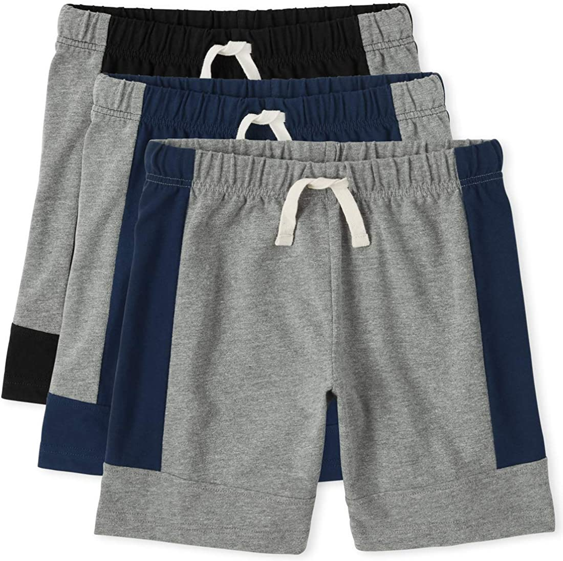 The Children's Place Boys Basketball Shorts 3-Pack