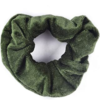 10 Pcs Headband Hair Rubber Scrunchie Ponytail Donut Grip Loop Holder Stretchy Band Ties Accessories