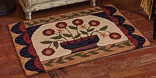 Park Designs Flower Basket Hooked Rug 24X36, 24 x 36