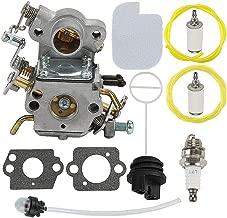 Mckin C1M-W26C P3314 Carburetor fits Poulan P3314WSA P3416 P3516 P3816 P3818 P4018 P4018WT P4018WTL P4018WM Gas Chainsaw Parts 545070601 with Fuel Cap Tune Up Kit