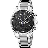 Deals on Calvin Klein K8S27141 Mens Steadfast Chronograph Watch