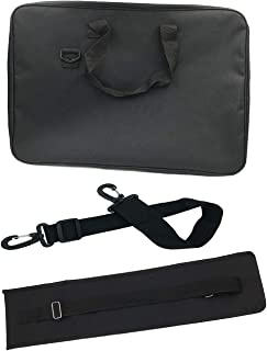 Music Stand Bag Sheet Music Stand Bag, Durable Carrying Bag for Music Stands and Piano Lessons 600D Nylon Stand Bag with Adjustable Shoulder Sling