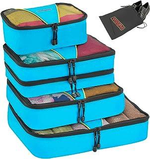 Valyne Packing Cubes 4-pcs Set Luggage Travel Organizer Bags with Free Shoe Bag