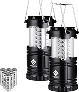 Etekcity Lantern LED Camping Lanterns, Battery Powered Camping Lights, Outdoor..