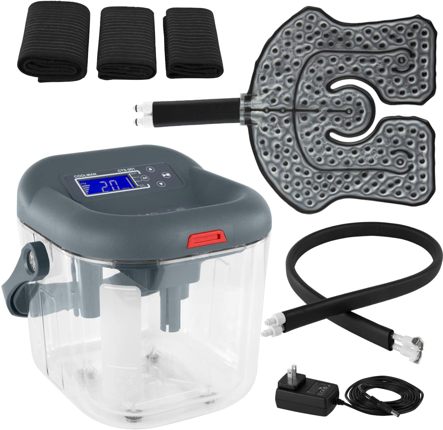 Vive Cold Therapy Machine - Large Ice Branded goods Recommended Cryot Flexible Cuff Cryo