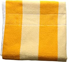 Sigma 6 100% Cotton Bath & Swim Towel, Ultra Soft, Super Absorbent, Antibacterial, 600 GSM, Yellow (60X30)