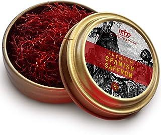 La Mancha Prime Grade 1 Premium Coup Spanish Saffron - 5 Gram ( 0.18 oz ) | The highest quality and the Purest