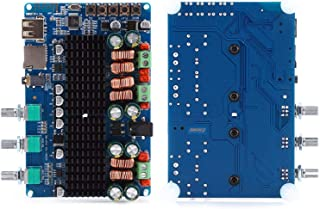 Placa amplificadora de potência, módulo amplificador de potência DC 12~26V, acessórios de áudio e vídeo para impedância de...