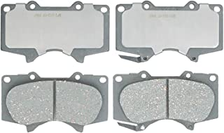 ACDelco Silver 14D976CH Ceramic Front Disc Brake Pad Set