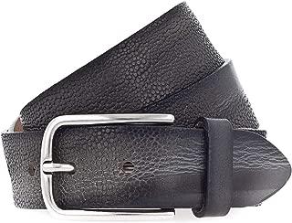 Vanzetti da Donna in Pelle Cintura Belt Cintura Pelle Donna Cintura Blu 40 mm