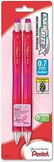 Pentel EnerGize-X Mechanical Pencil, 0.7mm, 2 Pack, Pink Barrels (PL107BP2P-BC)