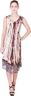 American-Elm Brown Coloured Chiffon Women's Sleepwear Maxi Gown