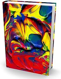 Book Sox Fabric Jumbo Book Covers - Jumbo Paint Print