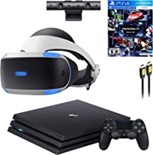 $799 » PS4 Playstation 4 Console VR Set - Playstation 4 Pro Console, PS5 Compatible PSVR Headset, Camera, Wireless Controller and...