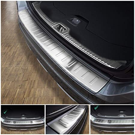 Tuning Art 818 Edelstahl Ladekantenschutz 5 Jahre Garantie Für Volvo Xc60 Facelift 2013 2017 Auto