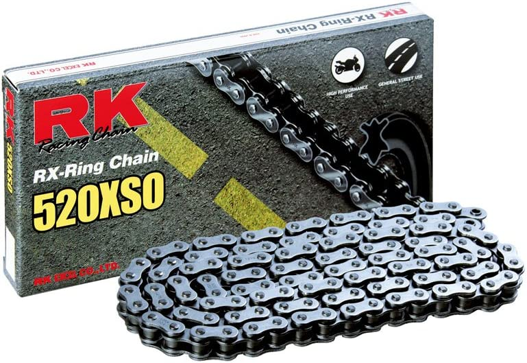 Oakland Mall RK Racing Chain 520XSO-104 X-Ring Directly managed store 104-Links Connectin with