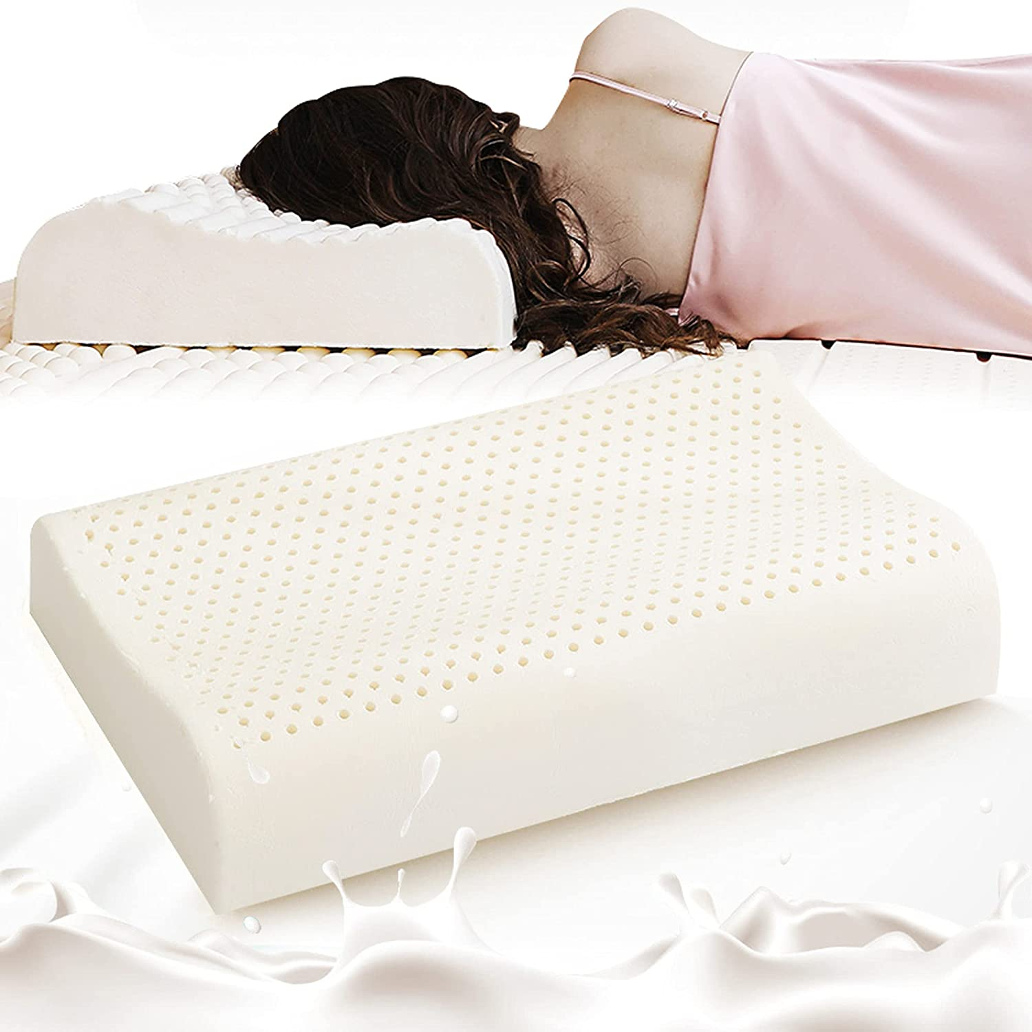 PATEX Kansas City Mall Latex Pillow Contour Don't miss the campaign for Extra Brea Sleeping Soft