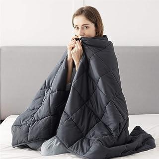 Bedsure Weighted Deken voor volwassenen - Zware deken voor autisme, slapeloosheid, stress reliëf, rusteloze been syndroom,...