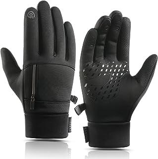 دستکش زمستانی Weitars دستکش ضد آب حرارتی صفحه نمایش لمسی برای مردان و زنان برای دوچرخه سواری در حال رانندگی پیاده روی