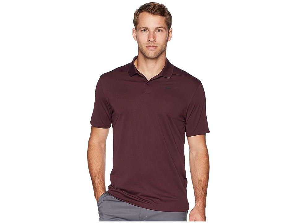 Nike Golf Dri-FITtm Victory Polo (Burgundy Crush/Flint Silver) Men